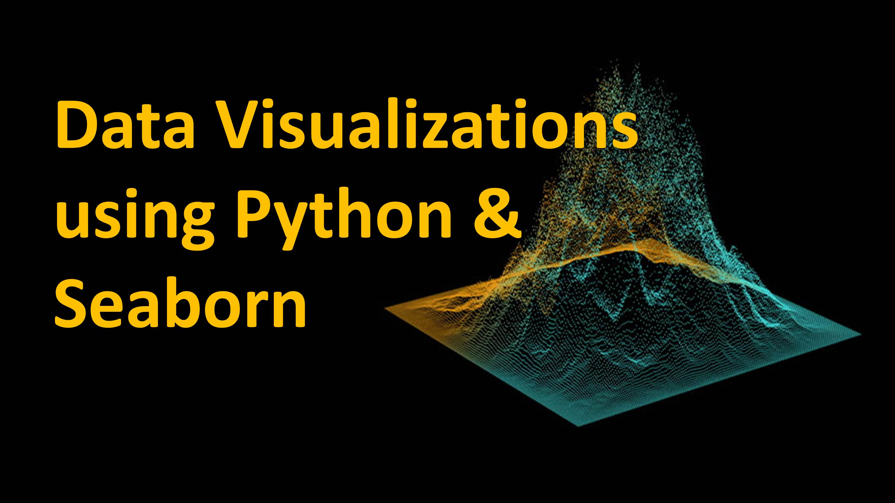 Data Visualizations using Python and Seaborn